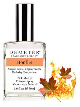 Bonfire by Demeter Fragrance Library--Heard this one is currently discontinued until they can reobtain one of the key ingredients for it. Boo! :(--UPDATE: This scent appears to be for sale again!