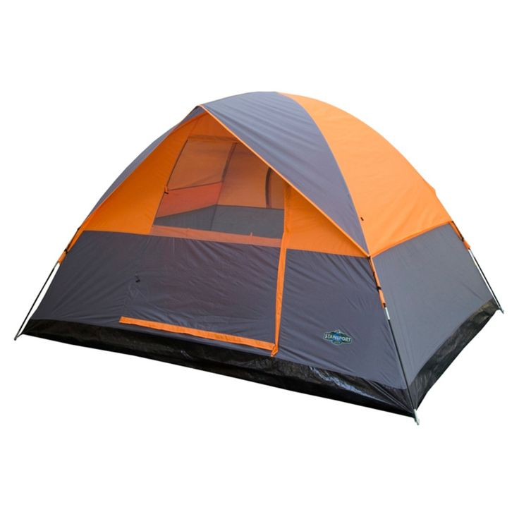 Stansport 3-Season 4-Person Tent - 733-63