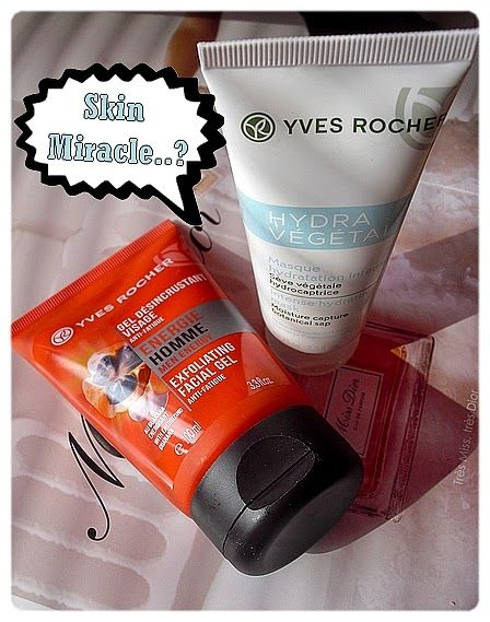 Gate to Neverland: Skin miracle...? Yeah! Yves Rocher in action.