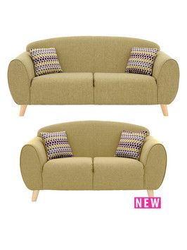 Lydia 3-Seater plus 2-Seater Sofa | very.co.uk