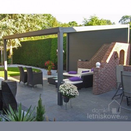 Weranda Gardendreams Giga z dachem poliwęglanowym (Aluminium terrace roofing with polycarbonate) 200 cm