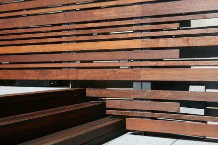 horizontal wood wall SOHO Triplex - Architizer