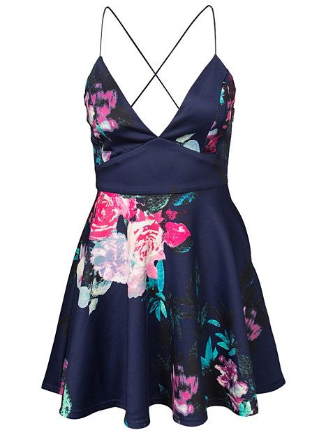 Floral Strappy Dress