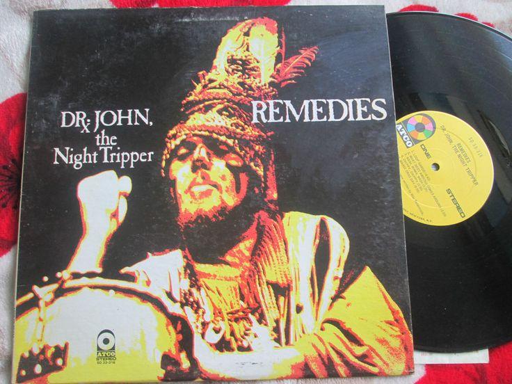 Dr. John, The Night Tripper – Remedies ATCO Records – SD 33-316 Vinyl LP Album