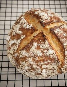 Gluten Free Crusty Artisan Bread (Cup4Cup gluten free flour blend)