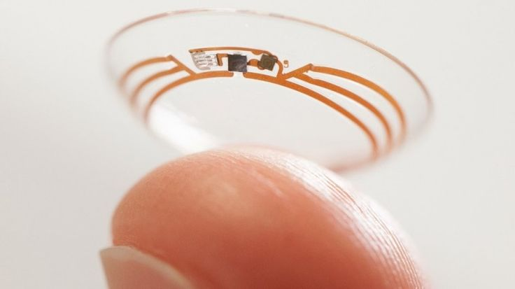 Samsung Granted Patent On Smart Contact Lenses