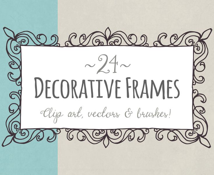 Decorative Frames: Versatile Vectors For Your Toolkit Sweet little hand-drawn frames – perfect for wedding invitations, stationery, product labels…you name it! They're easy to use and come in three sizes plus vector versions so you can easily customise the size and colour. So versatile and simple, they'll quickly become a steady staple of your design ... read more