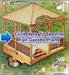 GAZEBO PLANS FREE  How To Build a Gazebo Fast and Cheap #Gazebo_Blueprints #How_To_Build_a_Gazebo