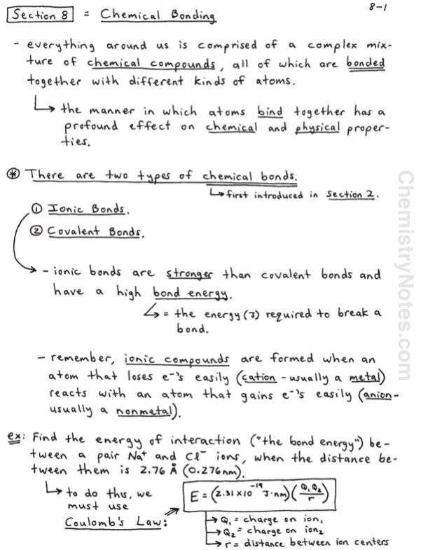 Chemical Bonding Lewis Structures Vsepr Theory Chemistrynotes
