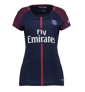 Women PSG 2017-18 Season Home Les Parisiens Shirt Jersey [K420]