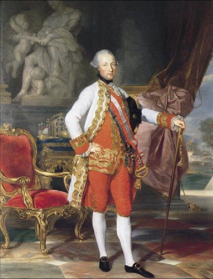 Josef II., císař římský, král český, uherský a chorvatský a  arcivévoda rakouský