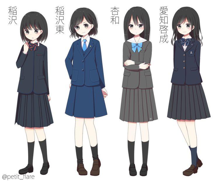 愛知県のJK制服まとめ(西尾張編) [10]