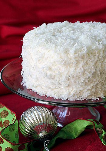 Christmas Coconut Cake