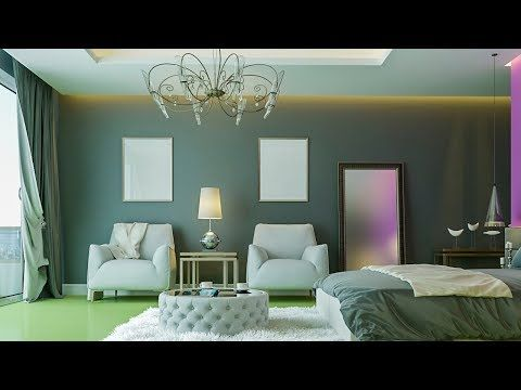 Architectural rendering in 3ds max 2018-Nice Bedroom 023 rendering