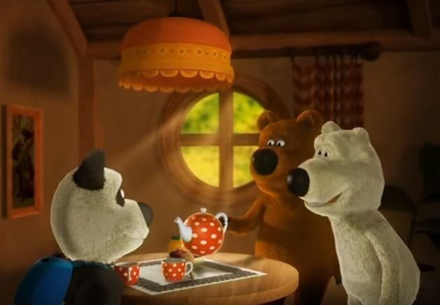 Веселые мишки - Турист http://tatbash.ru/bashkirskie/multfilmy/4442-veselye-mishki-turist