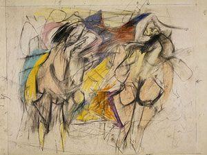 Willem de Kooning - Two Women (1952)