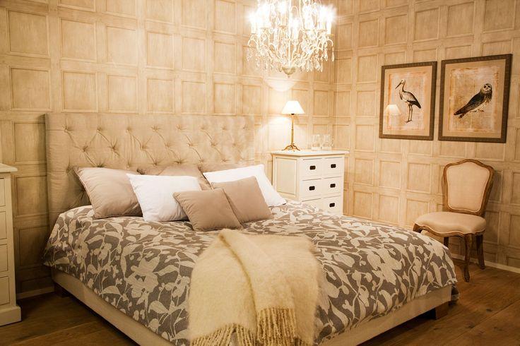 Club Vintage Interiors makuuhuone