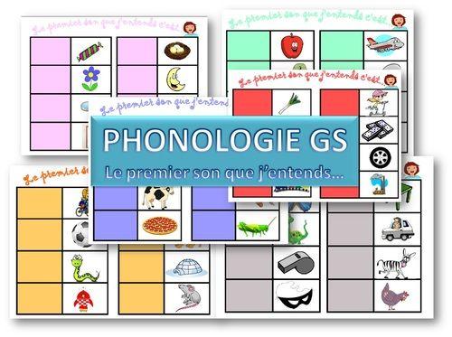 Petit jeu de phonologie pour un atelier de 6 enfants. Article original rédigé par lena et publié sur laclassedelena Reproduction interdite sans autorisation