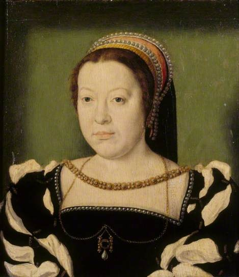 Catherine de' Medici (1519–1589), Queen of France by Claude Corneille de Lyon Date painted: c.1536