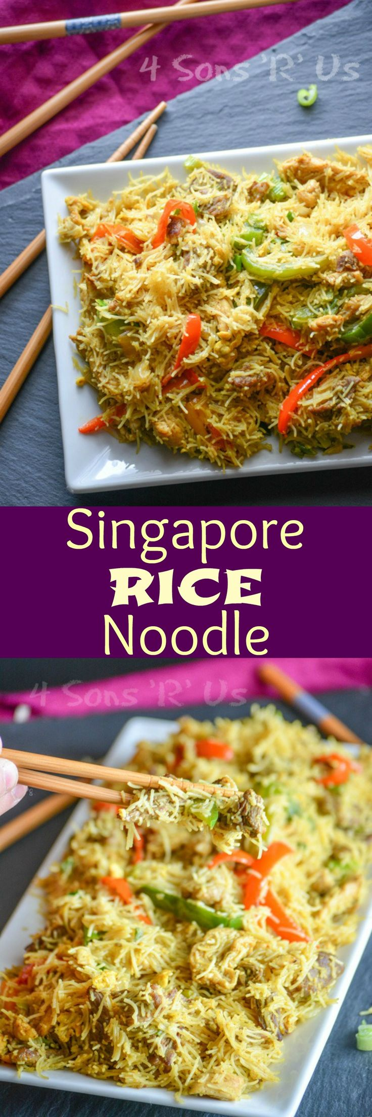 Make your favorite Asian dish at home. This easy Singapore Rice Noodle is a flavorful toss up of curried vermicelli rice noodles, fresh sauteed veggies, and seared strips of your favorite meat and other Asian flavors. I swear, some things in life are just inevitable. Not like mortality inevitable. But[Read more]