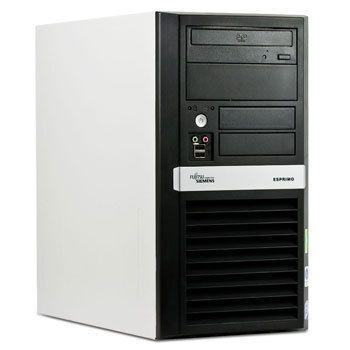 Calculatoare second hand Fujitsu Esprimo P5925, Core 2 Duo E6550