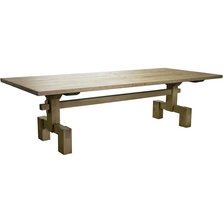 The Reclaimed Lumber Emilia Dining Table from CFC is one of the unique designs from this California based company, whom keeps quality in mind and strives to build furniture and home accessories that last for generations to come. CFC manufactures furniture the old fashioned way, by hand, in the United States. Many of their designs incorporate recycled douglas fir from torn-down homes and reclaimed oak from barns fences and box cars. These reused materials add to the hand finished…