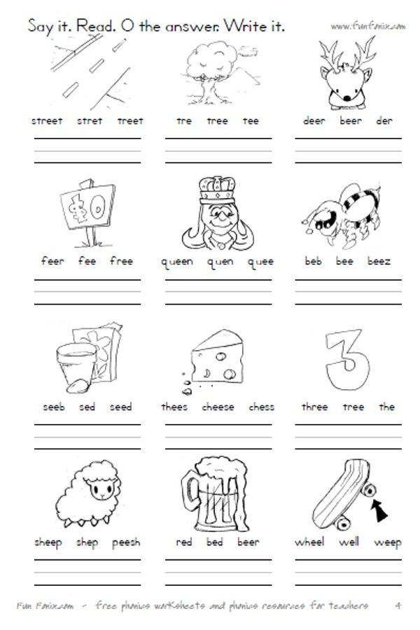 Vowel Teams Worksheets Free Worksheets Library | Download and ...