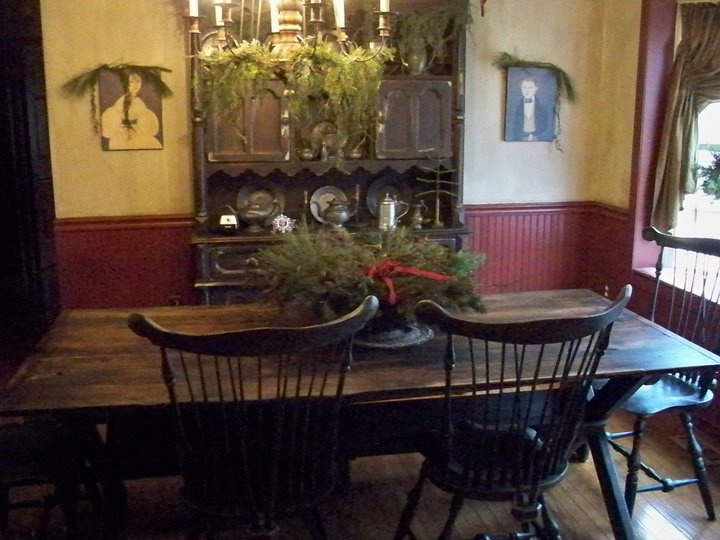 414 Best Decorating  Dining Rooms Images On Pinterest  Dining Captivating Primitive Dining Room Sets Design Ideas