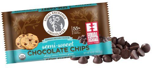 Equal Exchange Organic Chocolate Chips Semi-Sweet -- 10 oz - Vitacost
