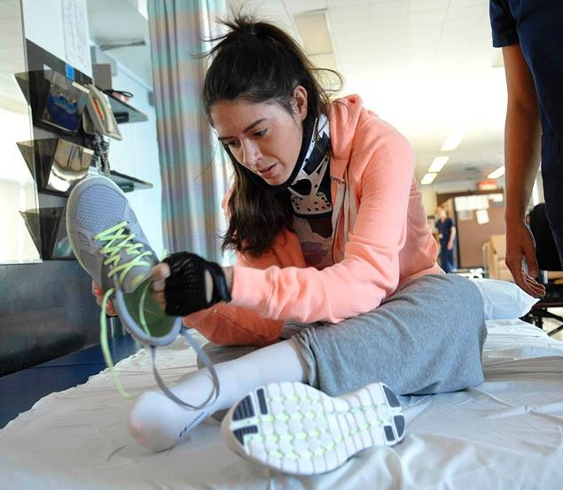 Brooklyn college student Tara Accetta battles back from paralysis, strives to live an independent life (NY Daily News)