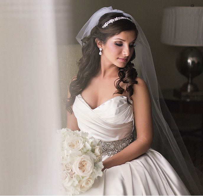 Glamorous Ballroom Wedding from K & K Photography. To see more: http://www.modwedding.com/2014/04/28/glamorous-ballroom-wedding/ #wedding #weddings #fashion