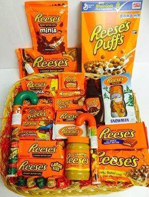 Reeses Hamper | DIY Christmas Baskets for Teens