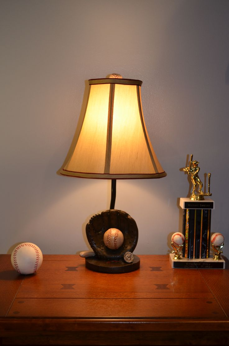 14 best juvenile lighting images on pinterest resins table lamp resin baseball lamp geotapseo Image collections
