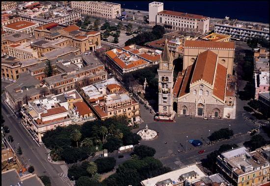 Il duomo di messina visto dall'alto - MESSINA - Sicilia-Italia