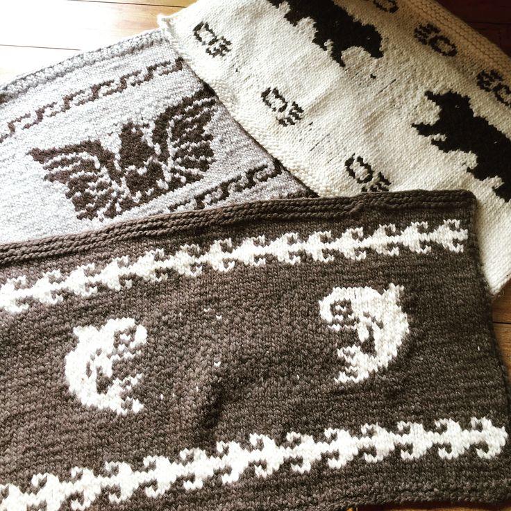 Cowichan Lap Blankets