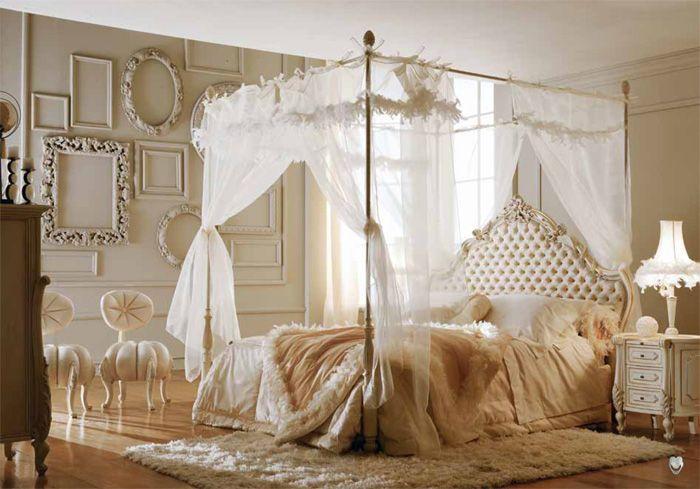 История появления кровати: кровать с балдахином