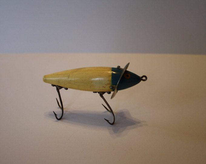 Señuelos de superficie pesca Vintage Heddon 210