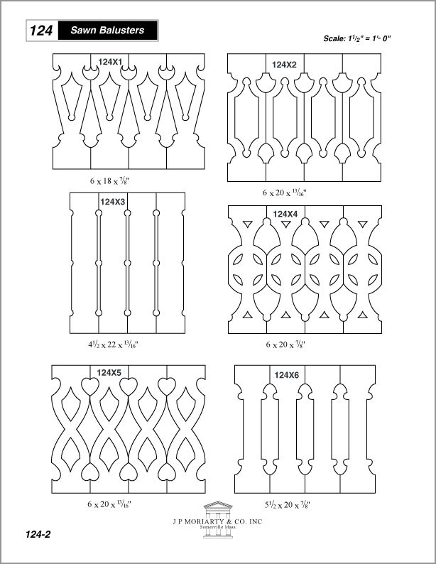 JP_Moriarty sawn balusters