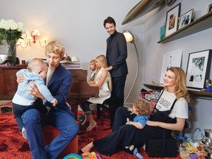 """Five years ago, supermodel Natalia Vodianova moved into Antoine Arnault's duplex apartment in Paris with her tribe, which then comprised just the three oldest children, fathered by her ex-husband, Justin Portman. Today, the couple resides together in the home with their five children--Roman, 1 year old; Maxim, 3; Viktor, 9; Neva, 11; and Lucas, 15. """"We need more space,"""" says Vodianova, W's June/July 2017 cover star. """"We're looking, but I'm almost paranoid to let this place go. We..."""