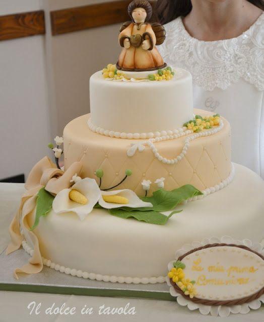 Il dolce in tavola: Torta comunione   http://ildolceintavola.blogspot.it/2016/05/torta-comunione.html