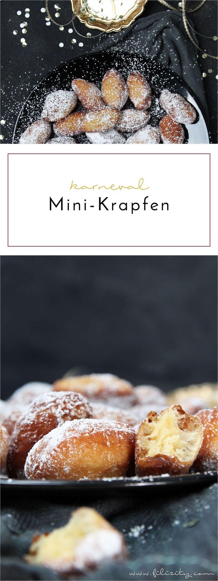 Krapfen, Pfannkuchen, Berliner - wie ihr sie auch nennt, zur Faschingzeit gehört dieses köstliche Gebäck dazu.