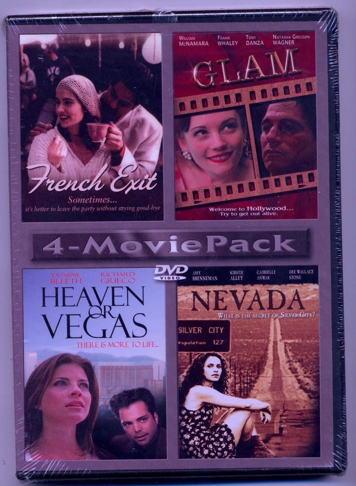 French Exit • Glam • Heaven or Vegas •Nevada  4 - Movie Pack