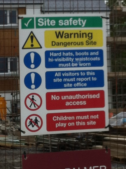 Safety Signs and Warning Signs are everywhere these days.These signs can easily be found in most locations from a construction site to road workers giving drivers instructions.Warning Signs are placed in various hazardous locations to enforce Safety.