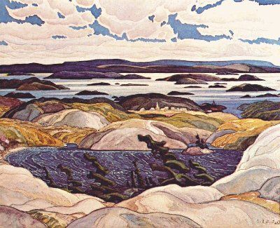 Franklin Carmichael - Member of the Group of Seven, Canadian Painters