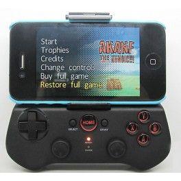 Accessoires telephones et Tablettes PC - Manette de jeu Gamepad Joystick IPEGA sans fil Bluetooth 3.0 avec support télescopique adaptable An...