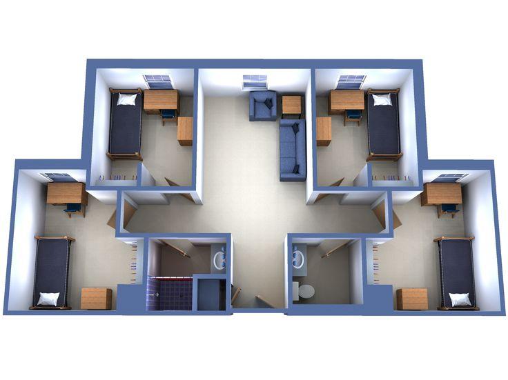 Plus de 1000 id es propos de h zak sur pinterest appartement chambre 2d et brisbane - Lay outs huis idee ...