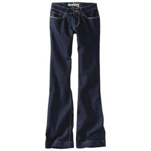 Womens dENiZEN® from the Levis® brand Essential Stretch Boot Cut Jean - Limo