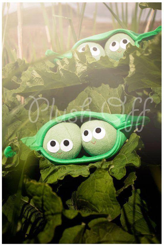 Peas In A Pod Postcard  1st Edition