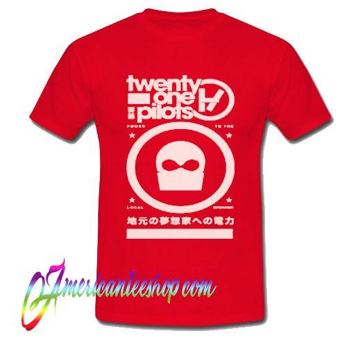 Twenty One Pilots Tokyo Mask T Shirt
