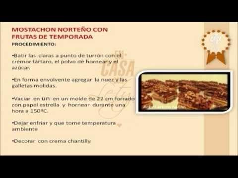 Receta para preparar Mostachón - YouTube